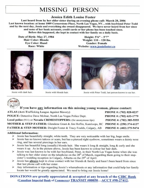 jessica-foster missing poster