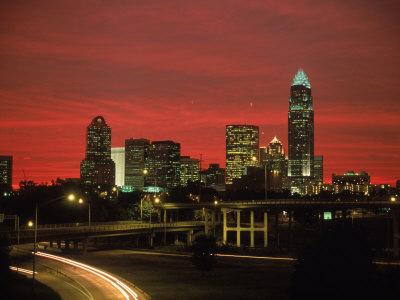 jim-mcguire-skyline--highway-at-night-charlotte-nc