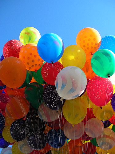 Balloon pictures for kids — photo 2