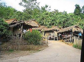 Traffickers lair A tribal village where victims are lured away from their families and end up in slavery