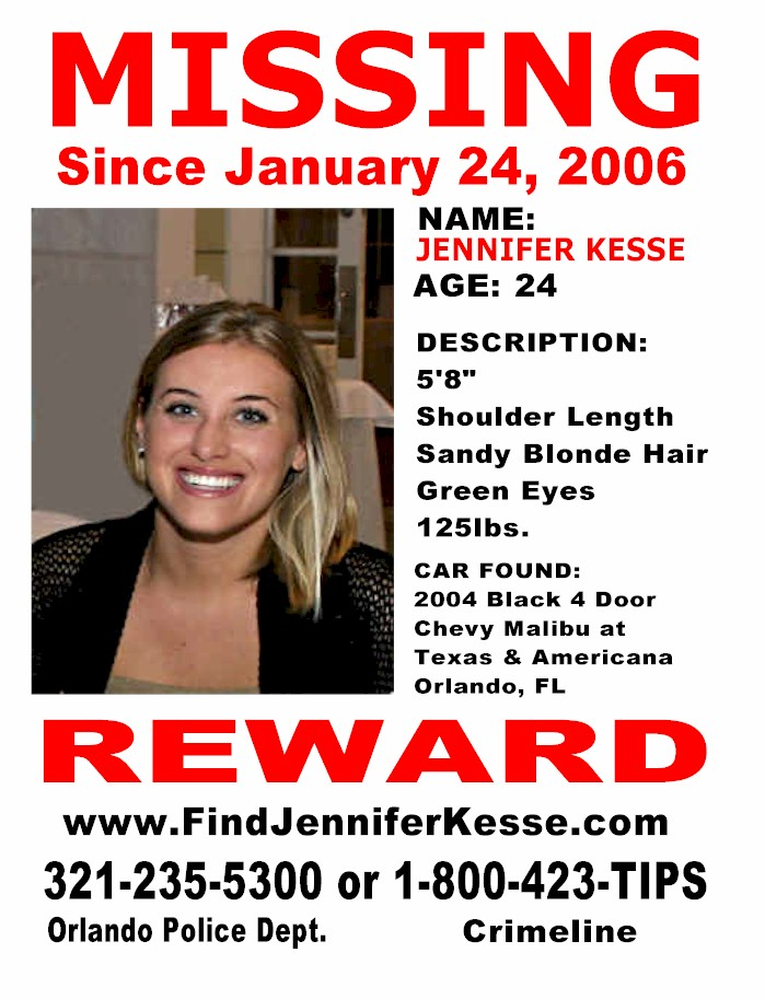 missing Cjaye57s Weblog – Missing Person Flyer